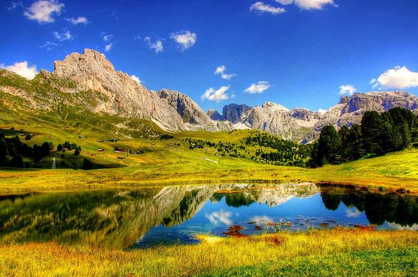 Wandern, Dolomiten, Gröden