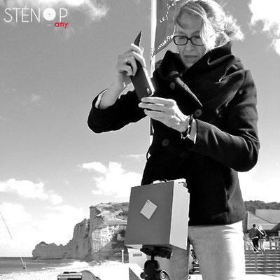 © Sténop'Amy - Virginie - Sur le front de mer !