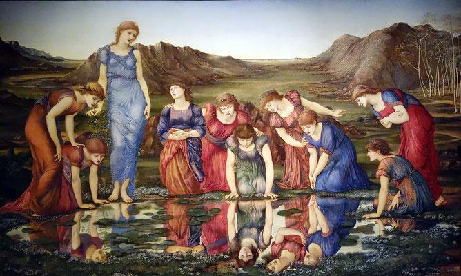 El espejo de Venus, Edward Burne-Jones