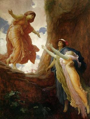 El retorno de Perséfone, Frederic Leighton