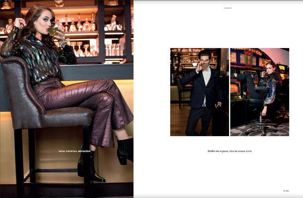 Publication, Publicatie, Magazine, Glossy, Mode, Modeshoot, Casino, Casino Shoot, Fashion, Jackie O, models, modellen, XXL Magazine, NEX Magazine