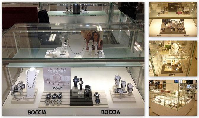 Boccia - Uhrentheken