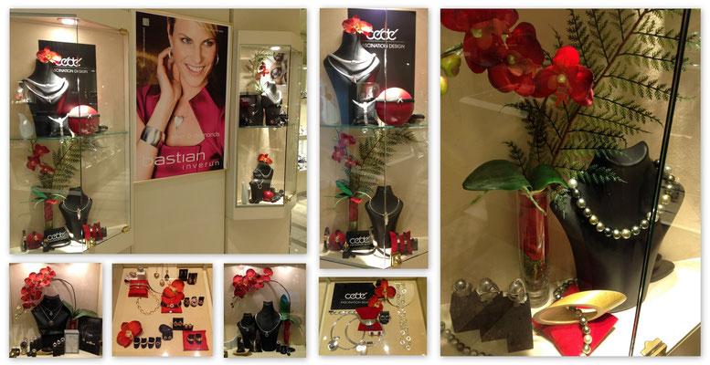 Rote Orchideen - Juwelier