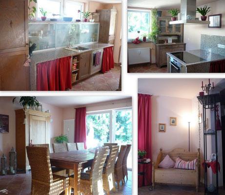 Essen und Küche - halb offener Wohnraum