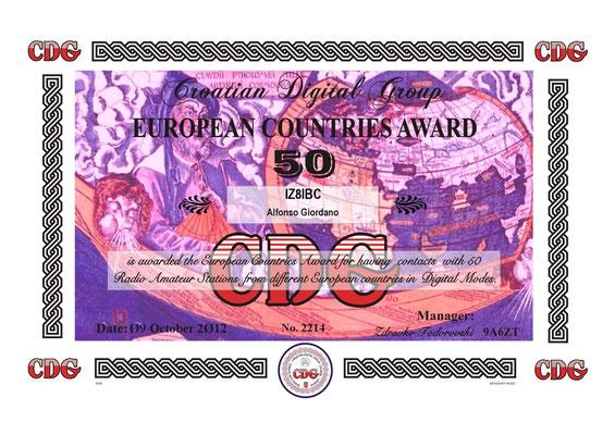 European Country Award 50