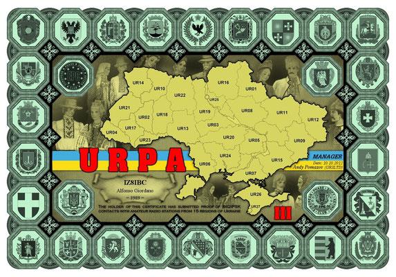 15 Regions of UKRAINE