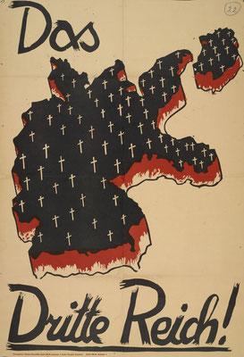 Von Richard Hauschildt herausgegebenes Plakat der SPD