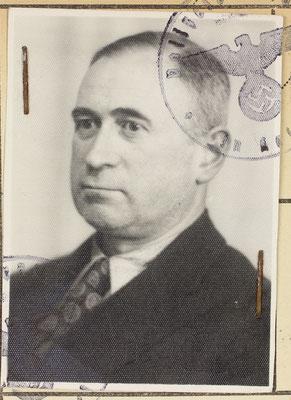 Ernst Sommer, der Bruder Jakos starb wie dieser noch in Kassel