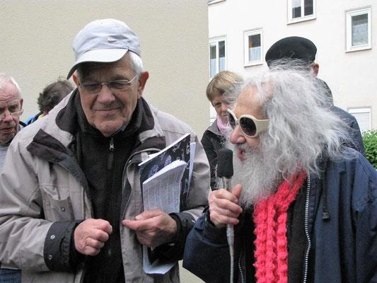 Jochen Boczkowski mit Max Weinberg