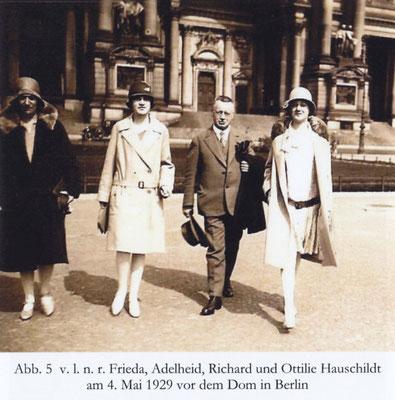 Familie Hauschildt 1929