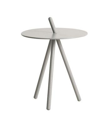 Tavolino  rovere tinto grigio