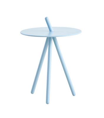 Tavolino rovere  tinto light blue