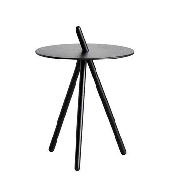 Tavolino rovere tinto nero