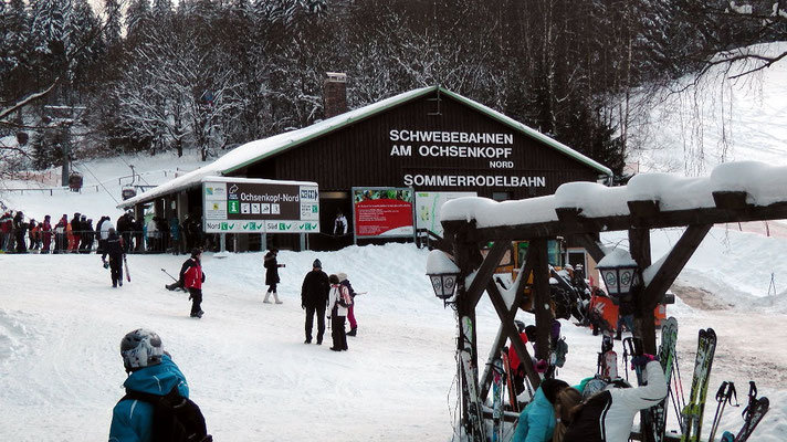 Ochsenkopfseilschwebebahn Talstation Nord in Bischofsgrün