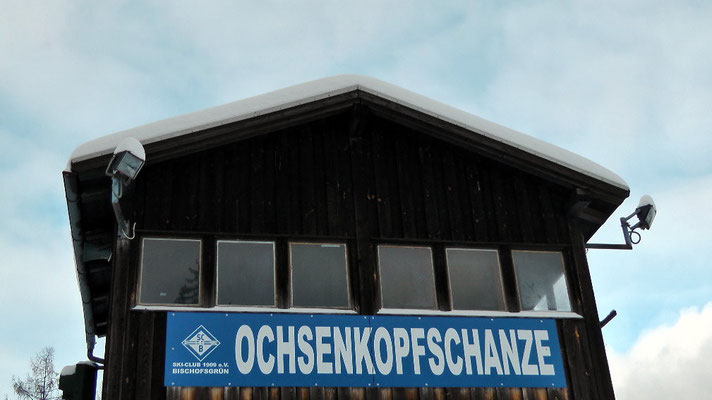 Ochsenkopfschanzen Ochsenkopfseilschwebebahn Talstation Nord in Bischofsgrün
