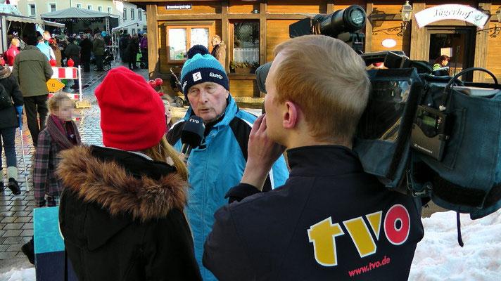 Horst Heidenreich im Interview mit TV Oberfranken