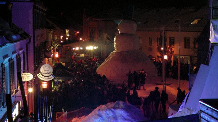 Schneemannfest am Rosenmontag Abendprogramm ab 19 Uhr