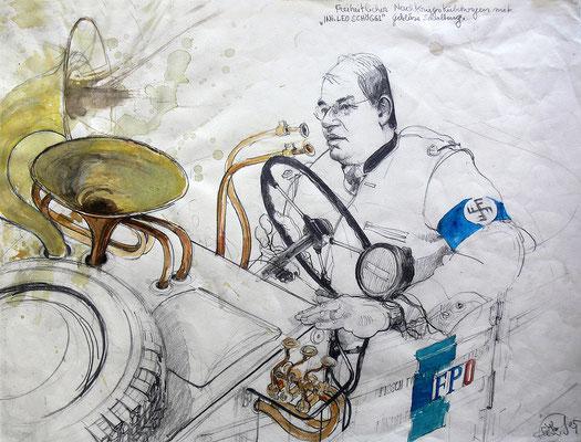 FPÖ-Gebläseschaltung für Nachkriegskübelwagen