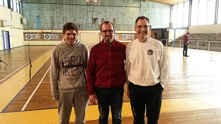 2eme : Jean-Brice, Pascal et Daniel B.