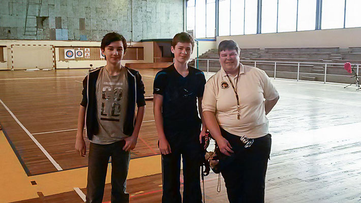 7eme :  Viktor, Tristan et Sophie