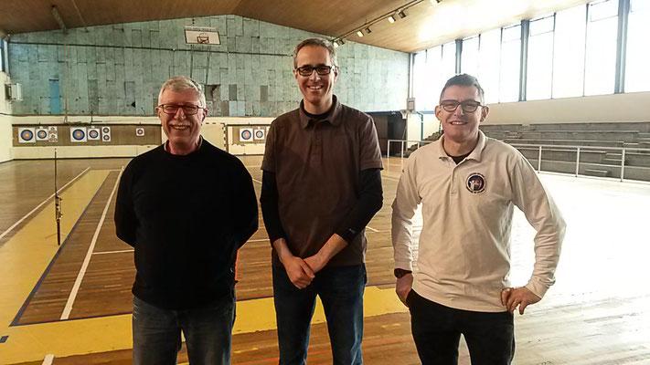 6eme : Michel R, Nicolas F et Bruno