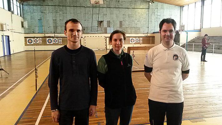 1er : Fabien S, Patricia et Nicolas C