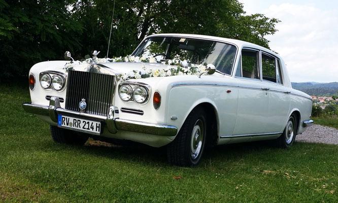 Rolls-Royce Silver Shadow für Hochzeit