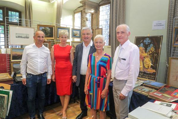 O. Scherberich, Mme l'adjointe, M. le Maire, Mme la Ministre, Didier Marchal