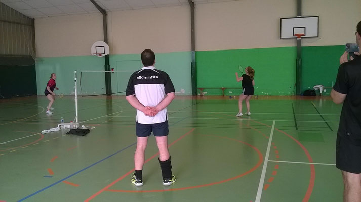 Le capitaine en plein coaching