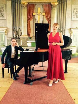 'Nordiska romanser' med sopranen Matilda Sterby, sommaren 2016.