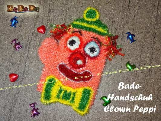 badeschwamm clown