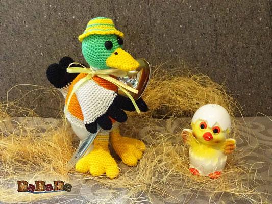 Eierwärmer Ente
