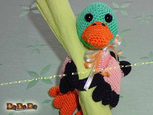 Serviettenhalter Ente