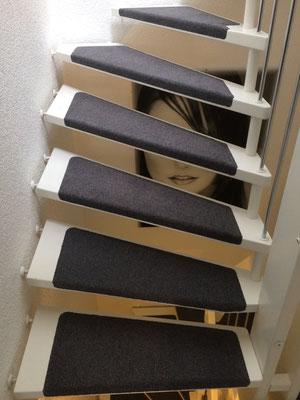 Treppenrenovierungen - walk-raumausstattungs Webseite!