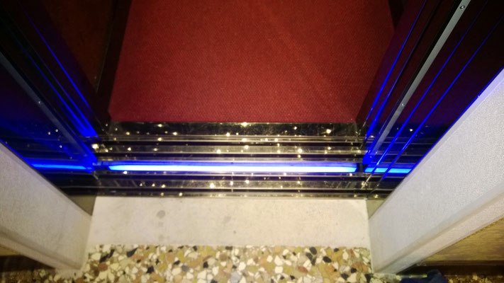 Threshold indicator nauled srl illuminazione led ascensori
