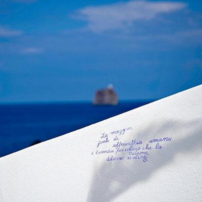 Auf der Insel Stromboli