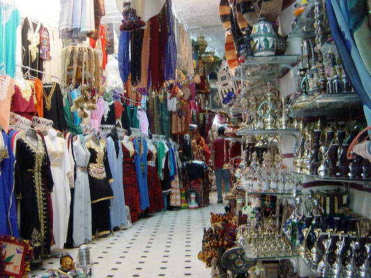 Basar in Tunis