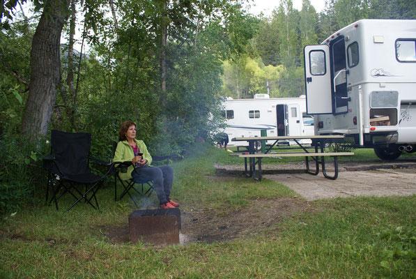 Campground bei Radium Hot Springs