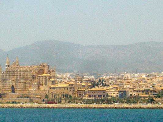 Ankunft in Mallorca