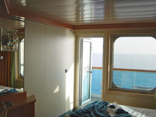Unsere Balkonkabine