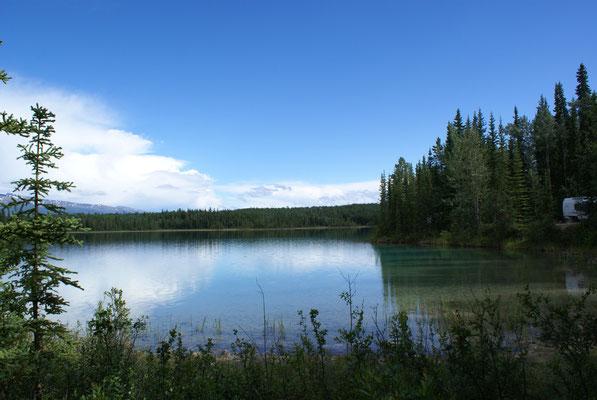 Boya Lake Campingplatz
