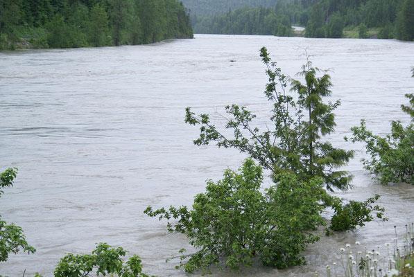 Hochwasser in Terrance B.C.