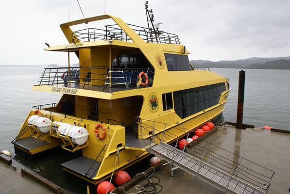 Unser Ausflugboot