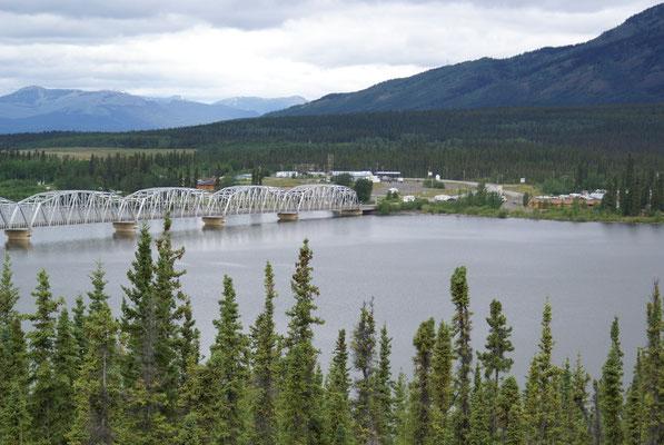 Es geht weiter auf der Alaska Hwy. gegen Norden, kurz vor Haines Junction