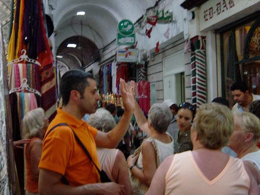 Bazar in Tunis