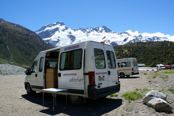 Campground Mount Cook Nt.Park
