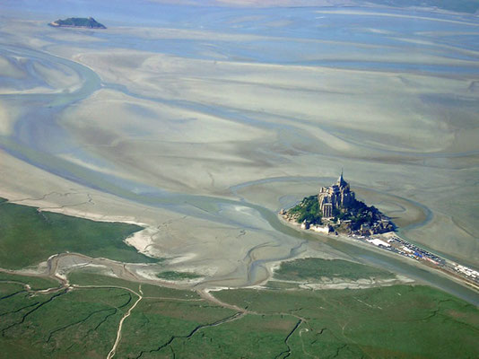 Vol ULM Mont Saint Michel