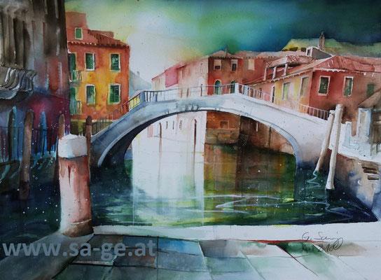 Venedig - Campo San Pantalon, 76x56cm, 2018/04 -X-