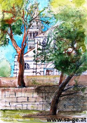 Rovinj - Euphemia Kirche - A3 Skizzenblock
