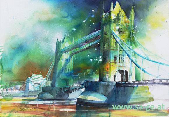 Tower Bridge, 75x52cm, 2021/07